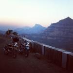 Bikes enjoying the mountain air
