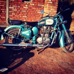 Royal Enfield Bullet at Kothiwade