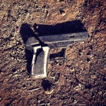 Broken toy gun at Kothiwade
